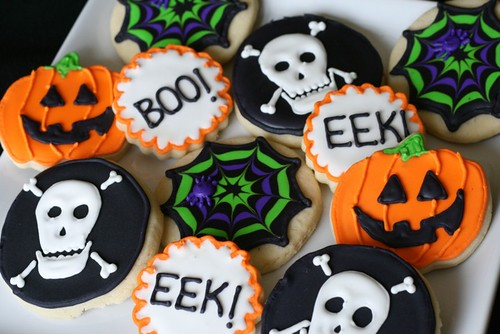 Image result for halloween cookies