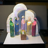 Monique's Nativity - Paper Sculpture