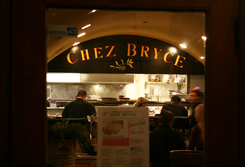Chez Bryce Chocolate Dinner