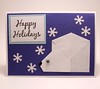 Origami Polar Bear Holiday Card