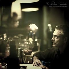 the dreamer (Ąиđч) Tags: light portrait italy rome roma andy bar pub italia drink andrea f14 candid andrew explore alcohol dreamer frontpage ritratto luce 50mmf14 philosopher candido locale bere alcol benedetti filosofo sognatore nikond90 ąиđч