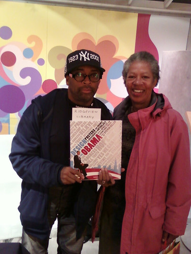 "Spike & Linda: Taschen ""Design For Obama"" Signing"