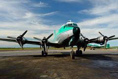 Buffalo Airways DC-4 (Ice Pilots NWT) Tags: ice plane buffalo aircraft nwt airways quest douglas warbird pilots nationalgeographic dc4 c54 buffaloairways r5d historytelevision icepilotsnwt