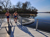 Stunning New Lake Wingra Dam on a Gorgeous November Day (Madison Guy) Tags: wisconsin madison wi lakewingra november8 unseasonablywarm vilaspark wingracreek 2009yip lakewingradam