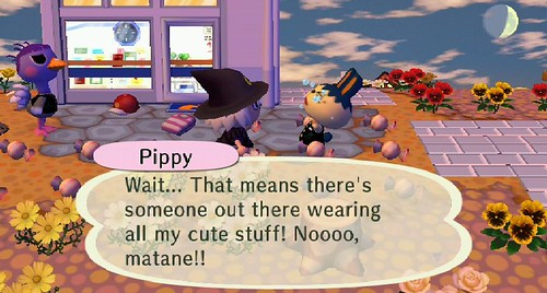 an animal crossing city folk