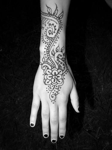 Spiral Henna