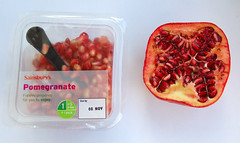pomegranate red seeds