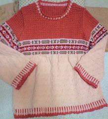 毛糸だま143号 編み込みセーター
