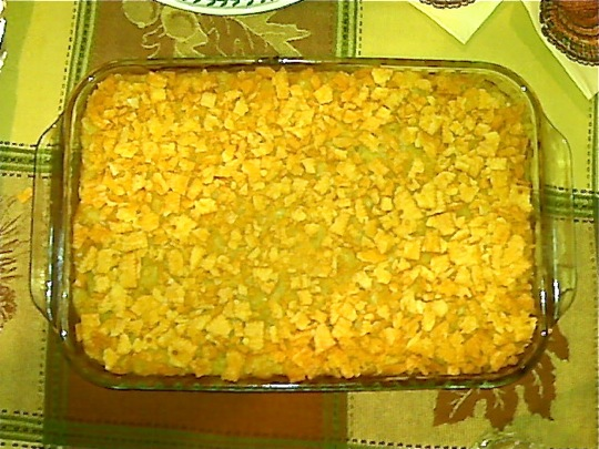 mac and cheese with cheez-it crust