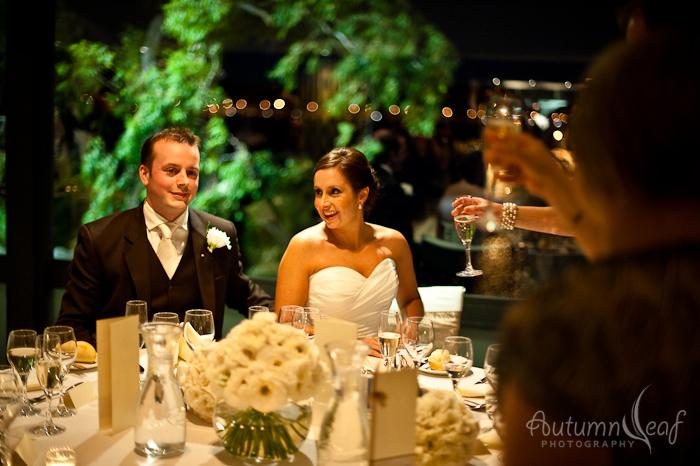 Simone and Jeremy Wedding-Toasting the couple (by Autumnleaf Photography)