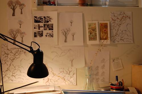 in my basement studio