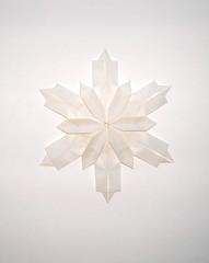 Snowflake 2.1 (Back) (Oriholic Jared) Tags: snowflake jaredneedle origamisnowflake