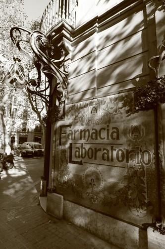 Barcelona facade...