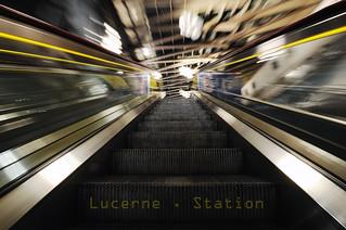 Lucerne . Station