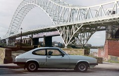 My old car. Capri 2.0S (Lazenby43) Tags: bridge ford capri mersey widnes runcornbridge osf 2os 1983car