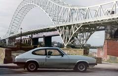 My old car. Capri 2.0S (Lazenby43) Tags: bridge ford capri mersey widnes runcornbridge osf 2os 1983car