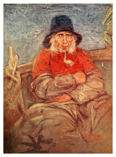 020- Un viejo pescador en Middelburg-Holland (1904)- Nico Jungman
