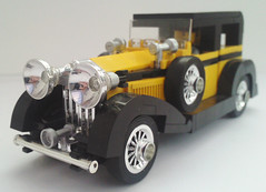 Rolls Royce Phantom II (bricktrix) Tags: lego rollsroyce ii vehicle phantom phantom2 indy2 rollsroycephantomii indianajones2 indianajones2game