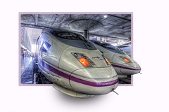 Renfe AVE, Atocha Railway Station – Estación de Atocha, Madrid HDR