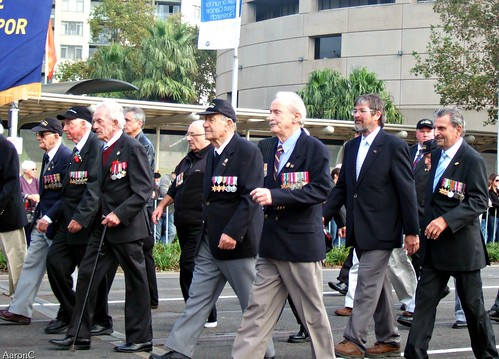 ANZAC WAR VETERANS