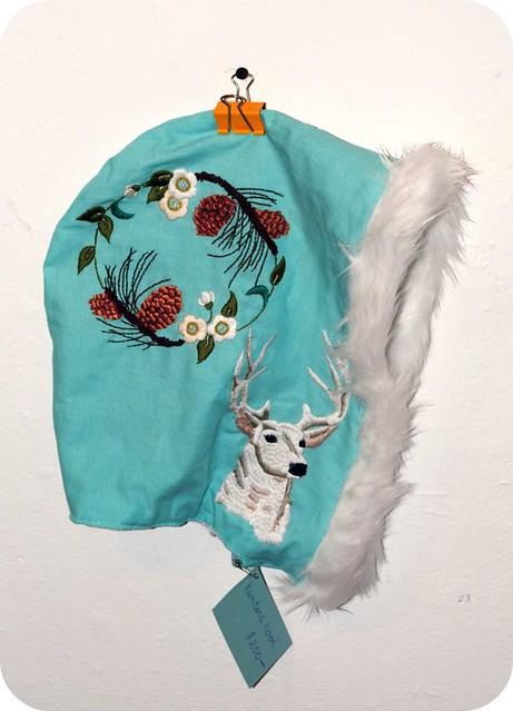Winter Deer Hood