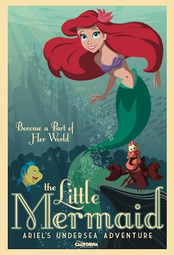 Ariel's Undersea Adventure Poster