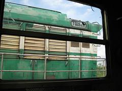Vore, Albania.  aPicture 1081 (Cheese / Bob) Tags: railroad station train diesel engine rail railway loco junction locomotive albania vore vora