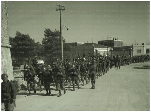 DURAZZO, 7 APRILE 1939 LA TORRE VENEZIANA E L'ENTRATA AL PORTO, L'INVASIONE ITALIANA IN ALBANIA.