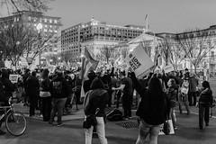 Title IX Protest for #TransChildren Monochrome (Geoff Livingston) Tags: titleix trump lgbt lgbtq lgbtqi aclu humanrights resist protest whitehouse departmentofeducation doe obama repeal bathroom law civilrights