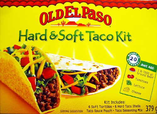 Old El Paso Hard & Soft Taco Kit