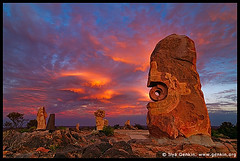 The Broken Hill Sculpture Symposium, Broken Hill, NSW, Australia (ILYA GENKIN / GENKIN.ORG) Tags: sunset panorama sculpture art rock clouds rural sunrise country hill australia nsw brokenhill sculpturesymposium