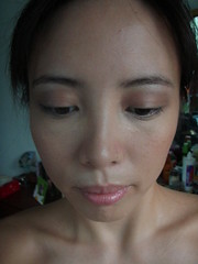 Ellana mineral foundation w/ Clinique eyeshadow