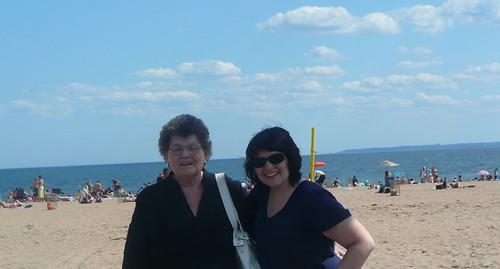 me and grandma.
