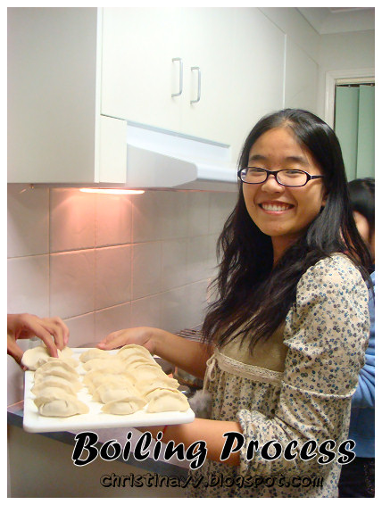 Home-cook: Boiling Dumpling Process