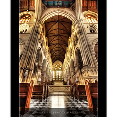 St Mary's Cathedral, Sydney (II) :: HDR (:: Artie | Photography ::) Tags: classic church architecture photoshop canon design sandstone bravo cross cathedral cs2 tripod jesus gothic sydney australia wideangle arches symmetry ceiling altar explore nsw newsouthwales 1020mm pillars frontpage hdr stmarys artie stmaryscathedral stainedglasses 3xp sigmalens photomatix tonemapping tonemap 400d rebelxti