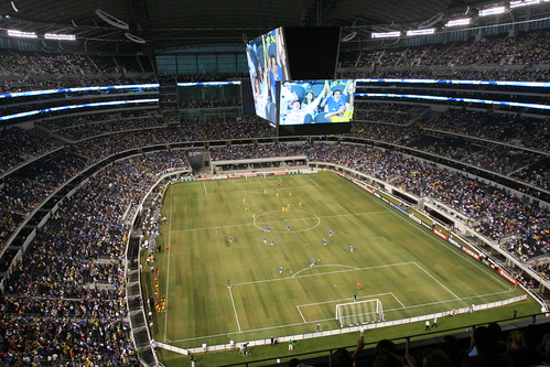 Telemanjaro, the world's largest HDTV, at Cowboys stadium, photo by Erik Grande