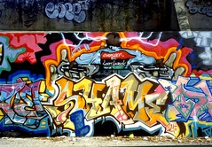 Shame125, Bronx, 1991 (KET ONE) Tags: newyorkcity graffiti pieces bronx cope2 shame125 alanket