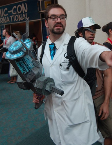 Comic Con 2009: Gordon Freeman