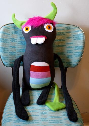 Acacia's Birthday Monster!