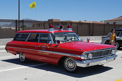 1964 Ford Country Sedan Wagon- Fire Batt. Chief (ron.photographer) Tags: show ford chevrolet belair 1955 nova car 1931 cobra muscle fair chevy shelby durant oldies corvette 1930 2009camarillofiestastreetfair