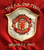 Manchester United 2007 FA Cup Final badge
