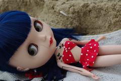 Stella a la playa...