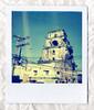a famous tower (Maryaneee) Tags: love vintage polaroid retro omg one600film savepolaroid classicpolaroid