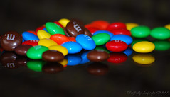 Explore: M&M's (Nancy Vanderbilt Photography) Tags: blue red orange brown black green colors yellow yummy mms candy florida
