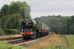 """Tornado"" on ""The Cathedrals Express"" (Treflyn) Tags: new forest train pacific cathedrals rail railway victoria class steam british locomotive express a1 passing through railtour build tornado railways liss peppercorn lner 462 60163"