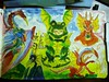 waterproof outline colored with Winsor & Newton Artists' watercolors (betolung) Tags: waterbrush winsornewton pentelaquash bijoubox artistswatercolors