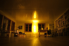 the cerebral (TommyOshima) Tags: home sweden library voigtlander f45 livingroom epson 15mm scandinavian land rd1 vickleby ursbernhard superwideheliarii gudrunthilemann