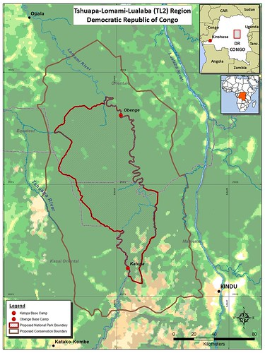 The proposed  National Park and buffer reserves