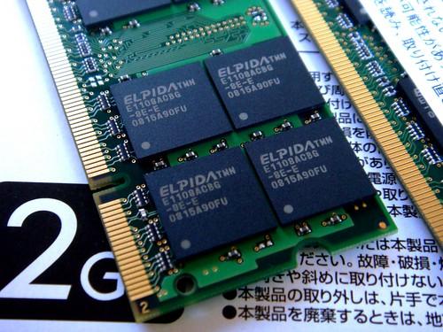 DDR2-800 2GBx2