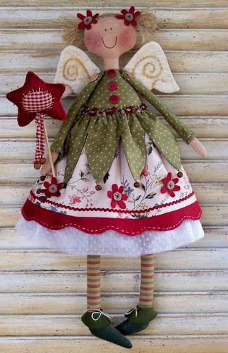 Fadinha Natal by PATCHWORK BY VANESSA RAQUEL....